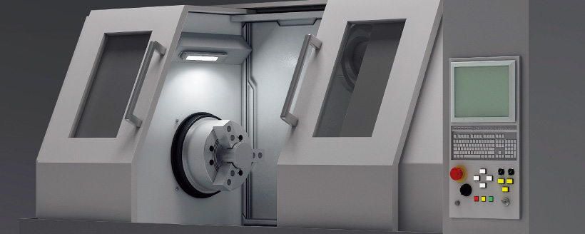 Optimal lighting solution for machine tools