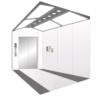 Elevator illumination to provide users' ultimate comfortableness and safety