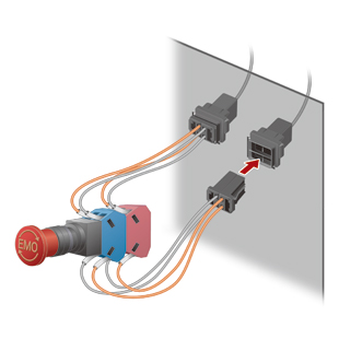 Preventing downtime by ensuring quick and easy replacement of switches