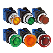 30mm TWN Series Illuminated Pushbuttons