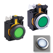 Flush Silhouette Switches CW Series Pilot Lights