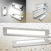LF1D/LF2D LED Illumination Units
