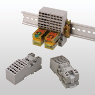 SU Series Spring Clamp Relay Sockets