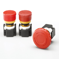 XA Series Emergency Stop Switches (with Removable Contact Block)
