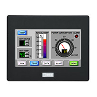 HG1G Operator Interface 4.3-inch TFT color LCD / Dark Gray / HG1G-4VT22TF-B