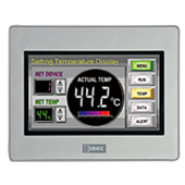 HG1G Operator Interface 4.3-inch TFT color LCD / Silver / HG1G-4VT22TF-S