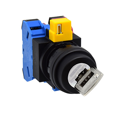 22MM HW SeriesSelector Switches 60°-2-Position HW1K-21B10