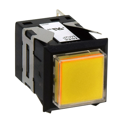 Square MA SeriesPilot Lights Square One-color Full Illuminated MA2P-131Y