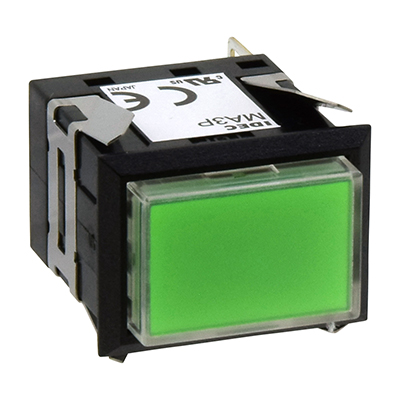 Square MA SeriesPilot Lights Rectangular One-color Full Illuminated MA3P-311G