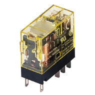 RJ Series Slim Power Relays DPDT Plain (without LED Indicator) 100-(110)V AC RJ22V-A-A100
